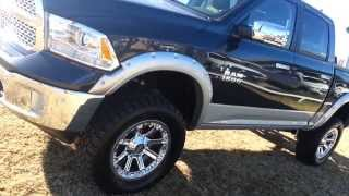 Mud Ready Tricked Out Lifted 2014 Ram 4x4 1500 Crew Cab