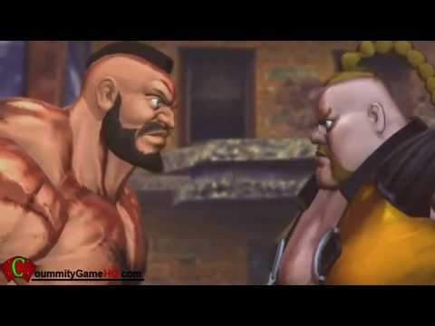 Street Fighter X Tekken All Rivals Cutscenes (Capcom + Namco)
