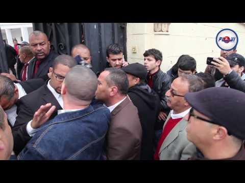 فوضى وتلاسن بمقر حزب الإستقلال