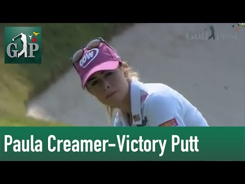 HSBC Womens Championship Paula Creamer Victory Putt