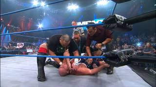 Kurt Angle Injured By The Aces And 8s Jan 10, 2013