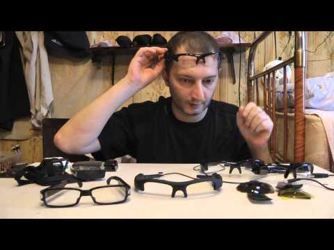Шпионские очки с камерой Pivothead Recon Jet Glossy - распаковка, видео-инструкция, тесты отзывы