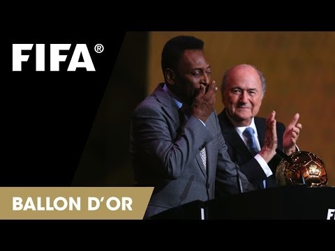 Pele: FIFA Ballon d'Or Prix d'Honneur Reaction