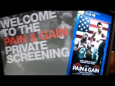 PAIN & GAIN PRIVATE SCREENING: THANK YOU FUSION BODYBUILDING FANS