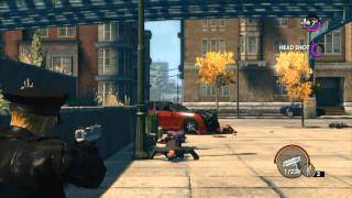 Saints Row: The Third Police Gameplay COPS SPD