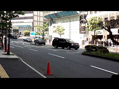 US President Barack Obama in TOKYO on April 25th 2014