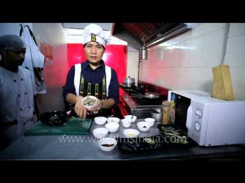 Northeast India cuisine: Dohkhlieh from Meghalaya
