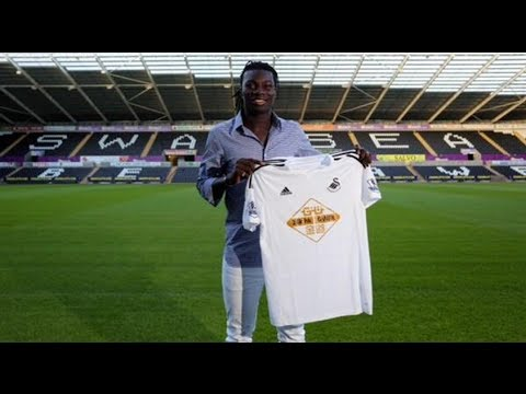 Bafétimbi Gomis - Welcome to Swansea - Shots, skills and goals