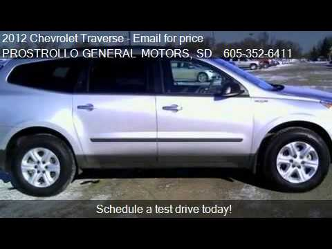 2012 Chevrolet Traverse LS for sale in Huron, SD 57350 at PR