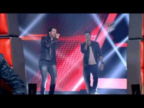 The Voice Brasil 2013 - André e Kadu cantam música própria e vão para o time de Daniel    land   ora