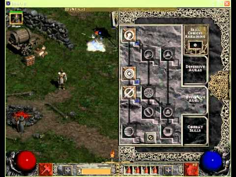 Смотреть Diablo II - Lord of Destruction Hammerdin Build (Patch 1.13) онлай
