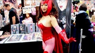 Yaya Han at Comic-Con 2013
