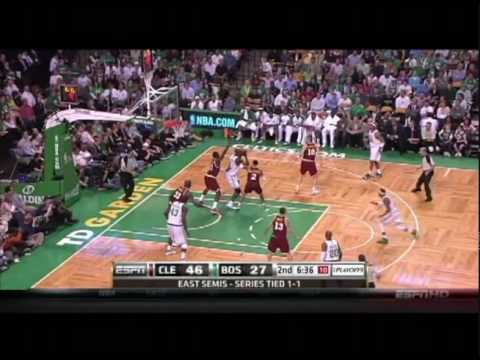 Boston Celtics-misdirection dribble handoff