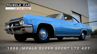 Muscle Car Of The Week Video #67: 1966 Chevrolet Impala