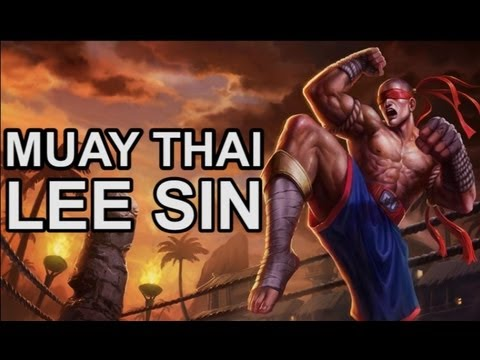 Muay Thai Lee Sin Skin - League of Legends