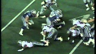DETROIT LIONS 1991 / CHAMPIONSHIP BLOWOUT Over DALLAS