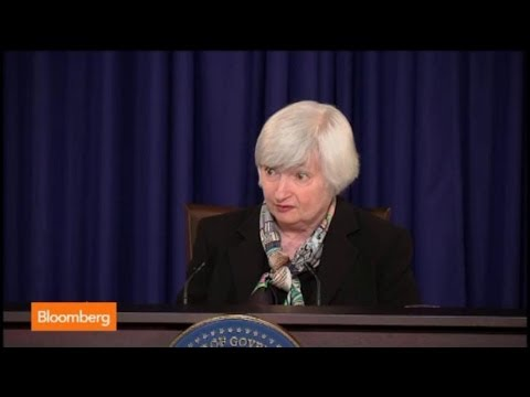 Yellen Meets Reporters: The One Moment That Matters