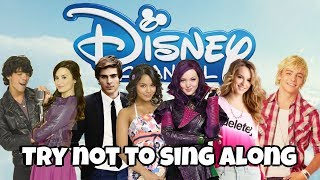 TRY NOT TO SING ALONG CHALLENGE | Disney Channel Original Movies Edition