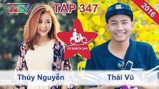 Ribi Sachi - Thái Vũ Faptv đội mưa đi xin ở trọ tại Đà Lạt | LỮ KHÁCH 24h | Tập 347 | 13/11/2016