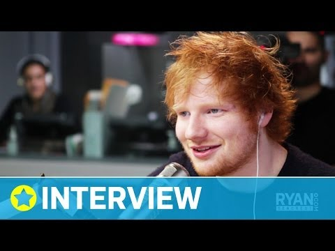 Ed Sheeran Has 120 Songs! I Interview I On Air with Ryan Seacrest