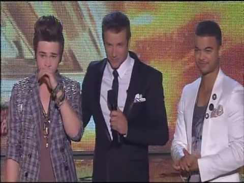 Reece Mastin Wins The  X Factor Australia 2011 Announcement  And Sings