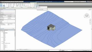 REVIT 2012 TUTORIAL 23 CRIANDO TERRENOS