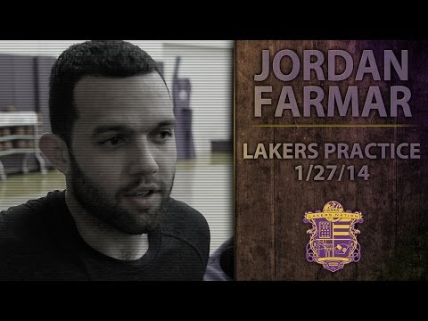 Lakers Practice: Jordan Farmar Hamstring Injury Update, Talks Team's Bad Habits