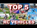 Top 5 BEST RC Vehicles 2017 Drones More TheRcSaylors