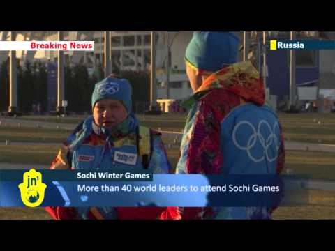 Sochi Olympics: final preps underway ahead of opening ceremony