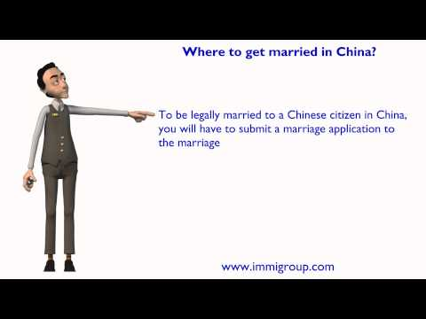 Where to get married in China?