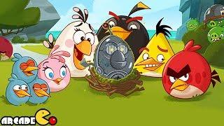 Naughty Angry Birds Stella Vs Bad Piggies Gameplay
