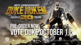 Duke Nukem 3D: 20th Anniversary World Tour - Teaser Trailer
