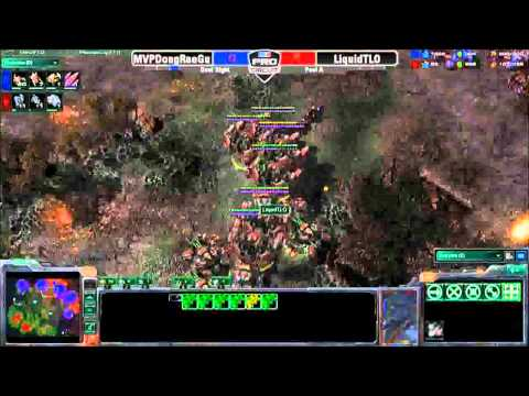 MLG Anaheim 2011 - MVPDongRaeGu vs LiquidTLO - Pool A - Game 2 - Part 2 - MLG Dual Sight