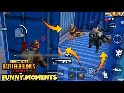 FUNNIEST 10 MINUTES OF PUBG MOBILE😂 || PUBG MOBILE FUNNY MOMENTS 😂