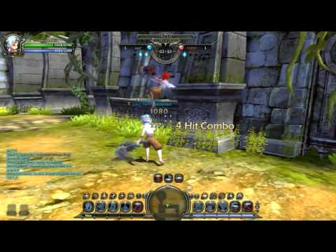 [DragonNest] Basic Infinity Wall Combo Guide for Hammer Mercenary