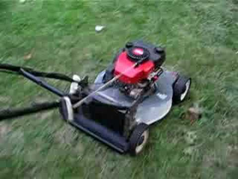 Getting The Craftsman Eager 1 Lawn Mower Running Part 2