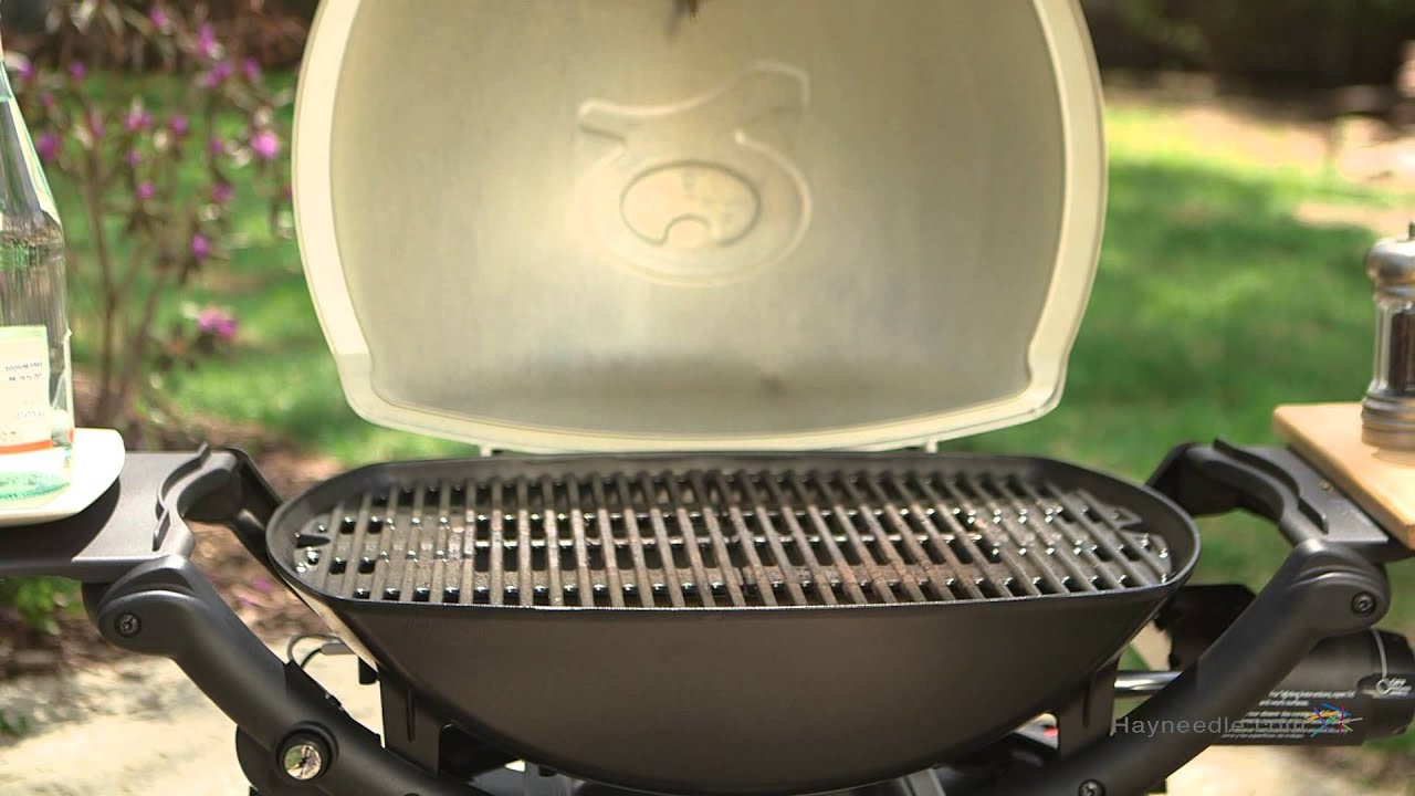 weber q 2200 lp gas grill product review video youtube. Black Bedroom Furniture Sets. Home Design Ideas
