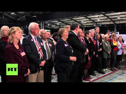 UK: Watch 'No' campaigners cheer Aberdeenshire's pro-union vote