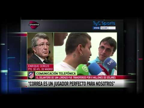 Entrevista | El presidente del Atlético de Madrid hablo de Correa y su contrato