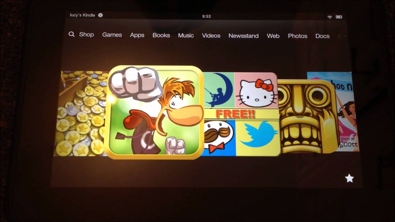 free games for kindle fire amazon