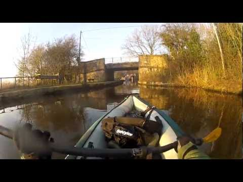 Canoeing on the Macclesfield Canal