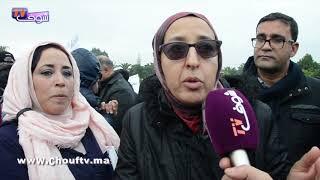 بالفيديو:التقاعد يُخرج الأطر الصحية للاحتجاج بالدارالبيضاء |
