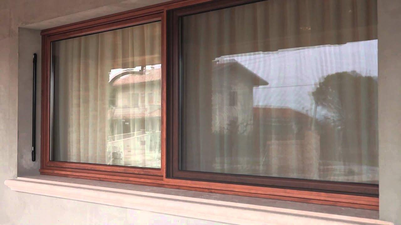 Finestre traslanti in pvc e anta ribalta youtube - Montaggio finestre pvc ...
