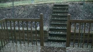 Freak Western PA Hail Storm-Part 1 (During)