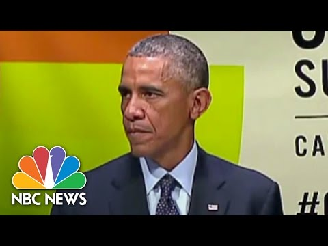 Obama To UN On Climate Change: 'We Have to Lead' | NBC News