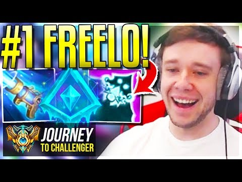 ABUSE THIS NEW BUILD BEFORE IT'S 100% NERFED!!! FREELO - Journey To Challenger | League of Legends