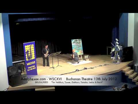 WSCXVI BRUSH REED    Ter Veldhuis, Tower, DeMars, Tanaka, Leduc & Bach