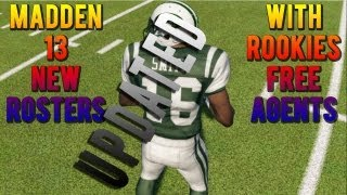 How To Get Madden 25 Rosters Updated With Video