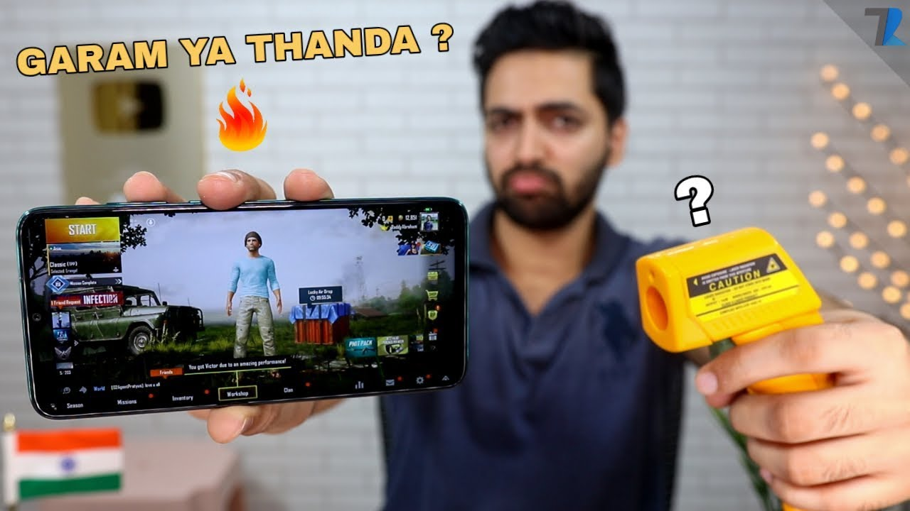 Redmi Note 8 Pro - Gameplay Review With Heating & Battery Test !🔥