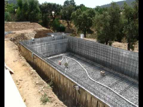 La technique du proc d des piscines by giacomini expert for Realisation piscine beton